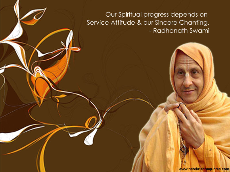 Radhanath Swami on Spiritual Progress