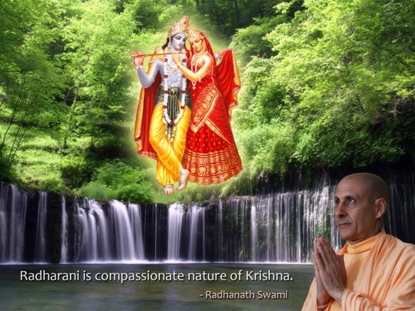 Radhanath Swami on Srimati Radharani
