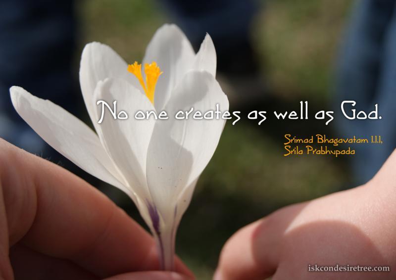 Srimad Bhagavatam on God