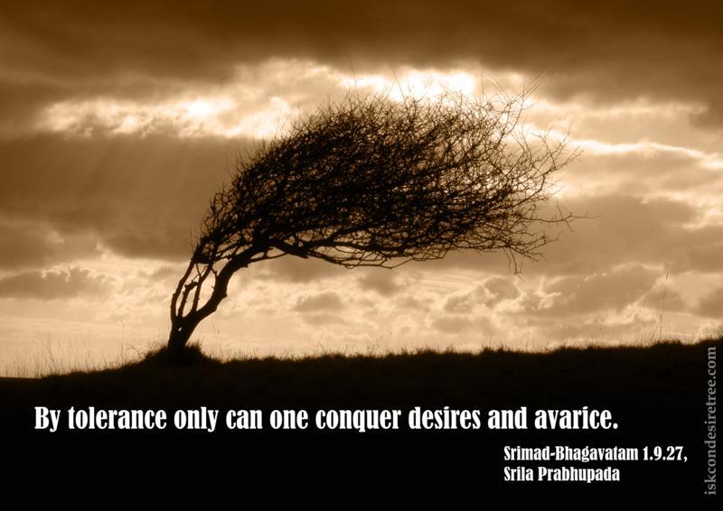 Srimad Bhagavatam on Tolerance