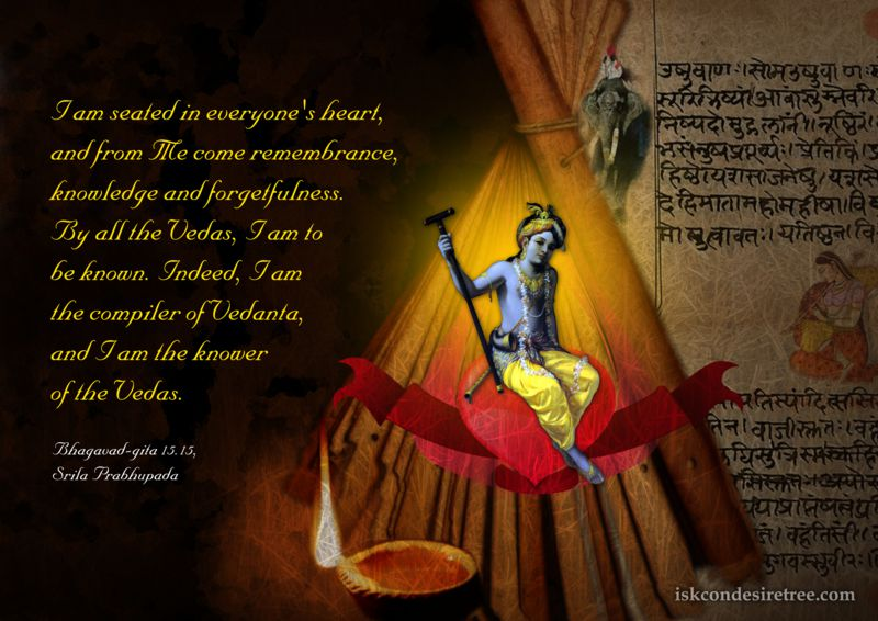 Lord Krishna on Krishna and The Vedas