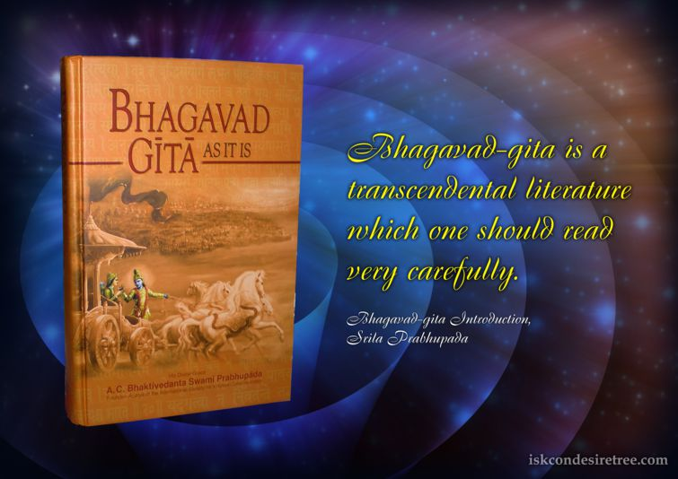 a literary analysis of bhagavad gita The bhagavad gita's story of arjuna & krishna: the three paths to salvation next lesson.