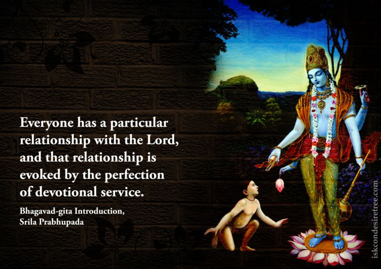 Srila Prabhupada on Evoking Our Relationship With The Lord