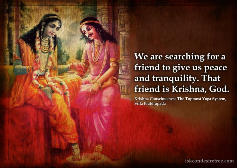 Srila Prabhupada on Krishna - Our Friend