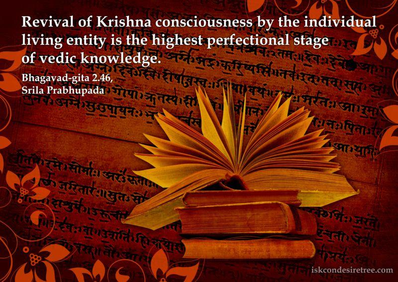 Srila Prabhupada on Revival of Krishna Consciousness