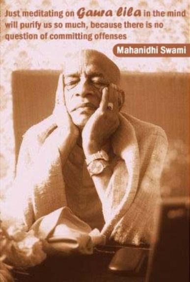 Mahanidhi Swami on Purification