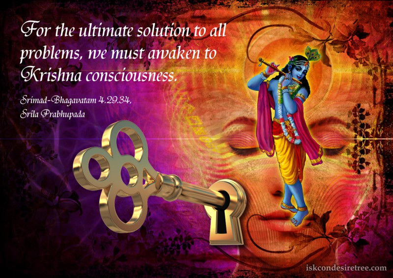 Narada Muni on Ultimate Solution to All Problems