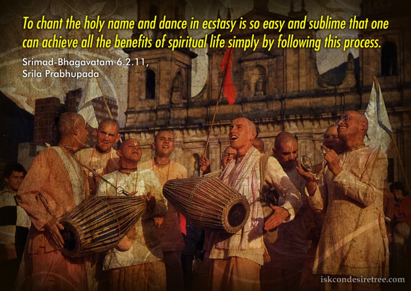 Srila Prabhupada on Achieve All The Benefits of Spiritual Life