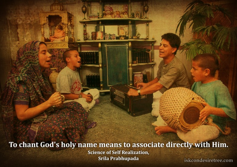 Srila Prabhupada on Associating Directly With God