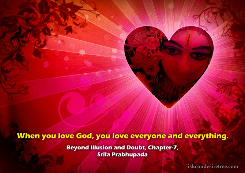 Srila Prabhupada on Effect of Loving God