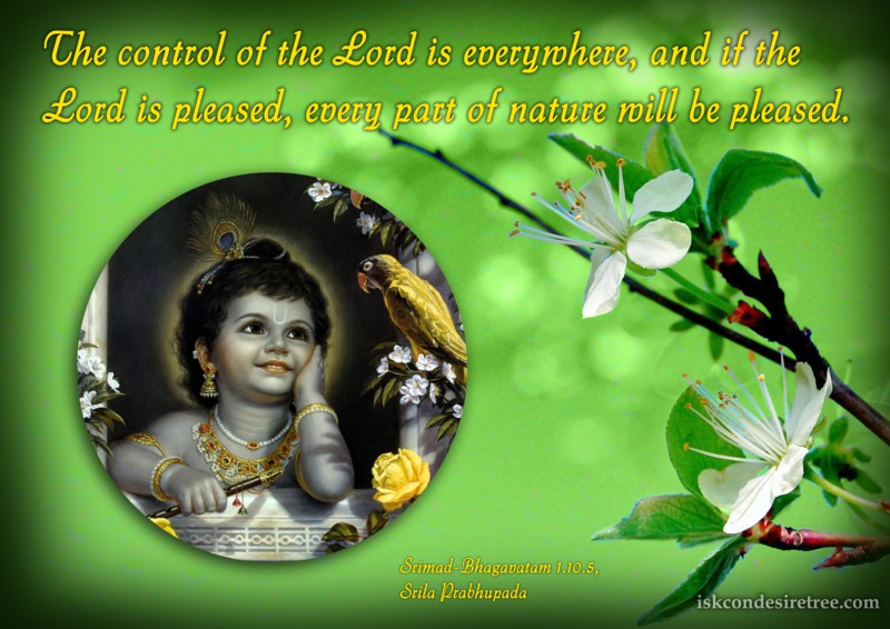 Srila Prabhupada on Effect of Pleasing The Lord