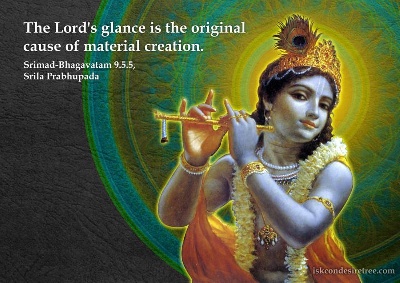 Srila Prabhupada on Glance of The Lord