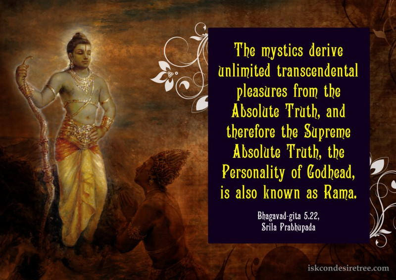 Reason Why The Supreme Lord is Also Known as Rama