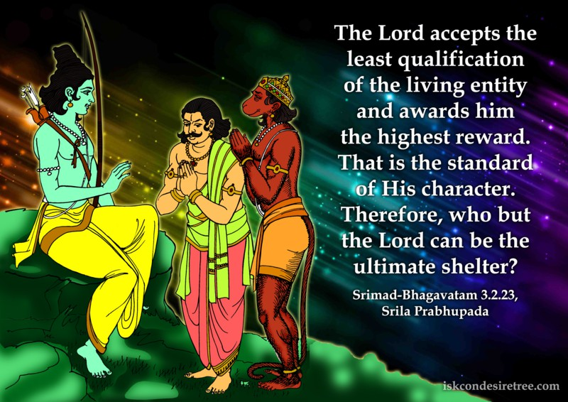 Srila Prabhupada on Standard of The Lord's Character