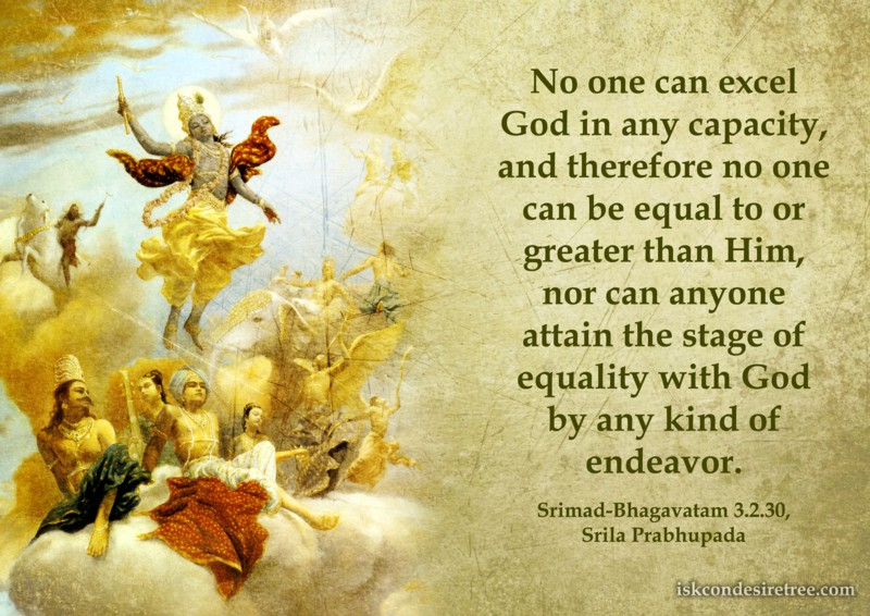 Srila Prabhupada on Superiority of God
