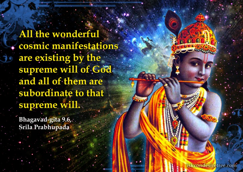 Srila Prabhupada on Supreme Will of God