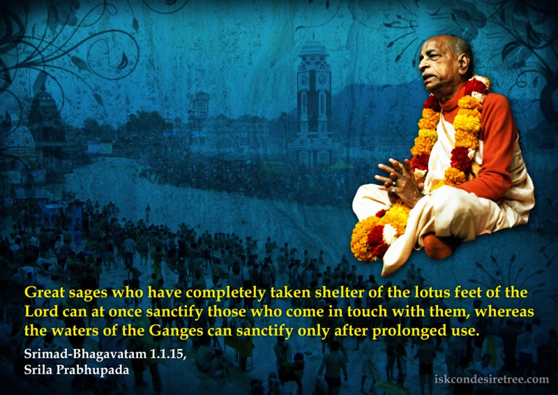 Srimad Bhagavatam on Greatness of The Great Sages