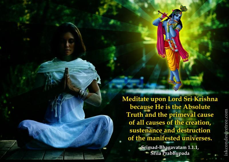 Krishna | Spiritual Quotes By ISKCON Desire Tree - Part 10