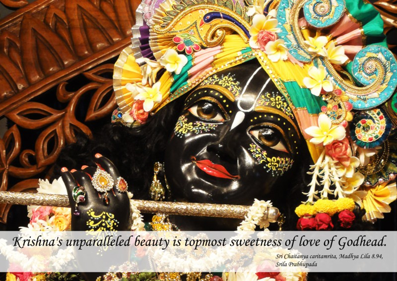 Chaitanya Caritamrta on Krishna's Unparalleled Beauty