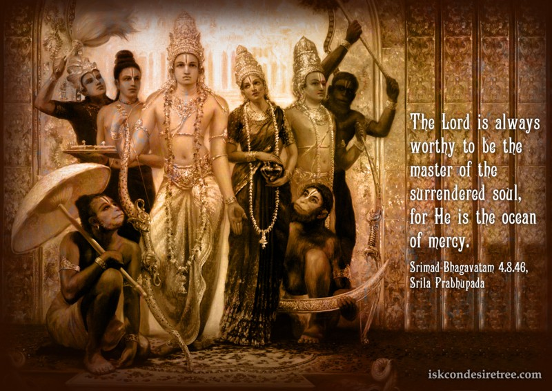 Srila Prabhupada on Lord - An Ocean of Mercy