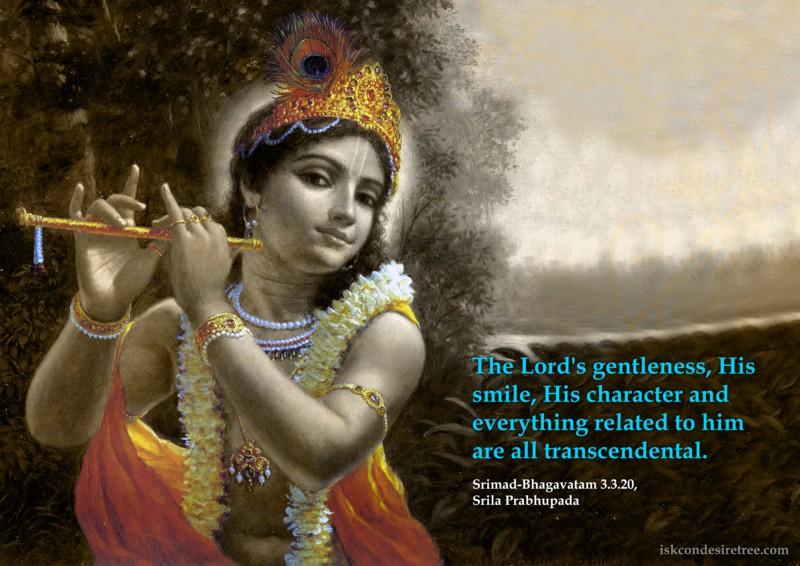 Srila Prabhupada on Lord's Transcendental Aspects