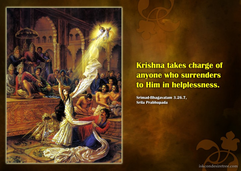 Srila Prabhupada on Surrendering To Krishna