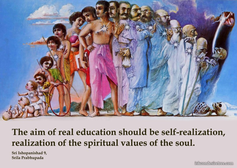 Srila Prabhupada on Aim of Real Education