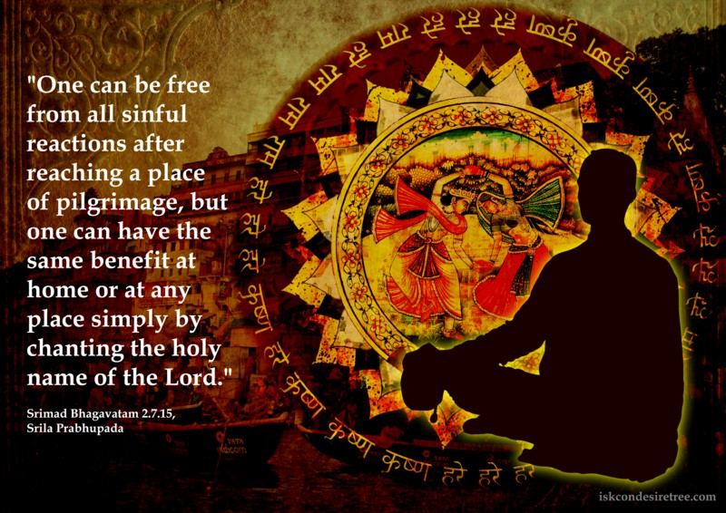 Srila Prabhupada on Benefits of Chanting The Holy Name of The Lord