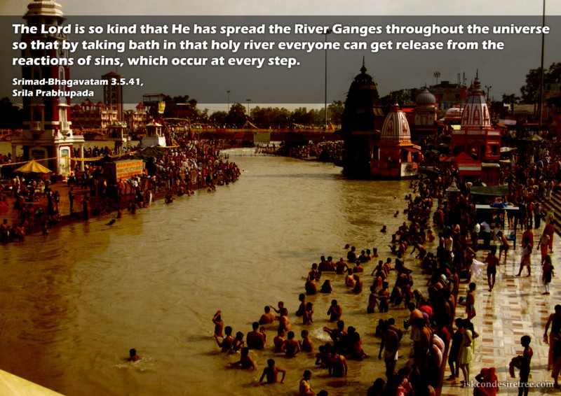 Srila Prabhupada on Glories of River Ganges