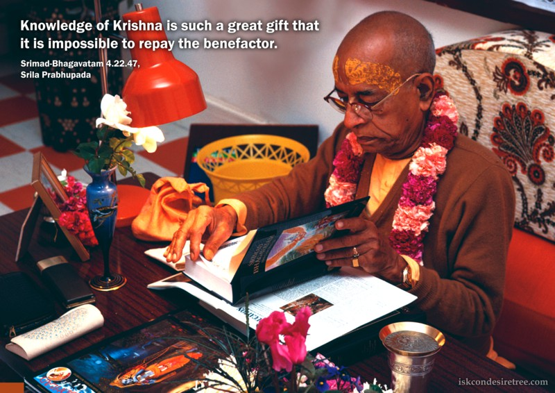 Srila Prabhupada on Knowledge of Krishna