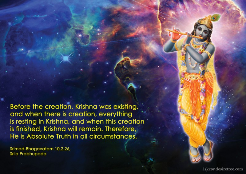 Srila Prabhupada on Krishna - Absolute Truth in All Circumstances