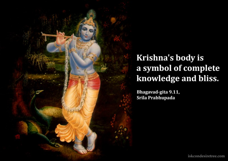Srila Prabhupada on Krishna's Body