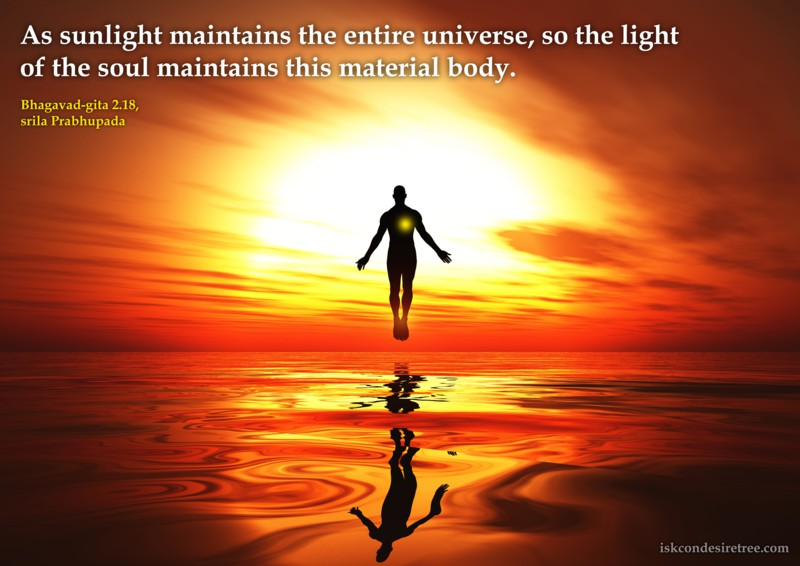 Light Of The Soul Spiritual Quotes By Iskcon Desire Tree