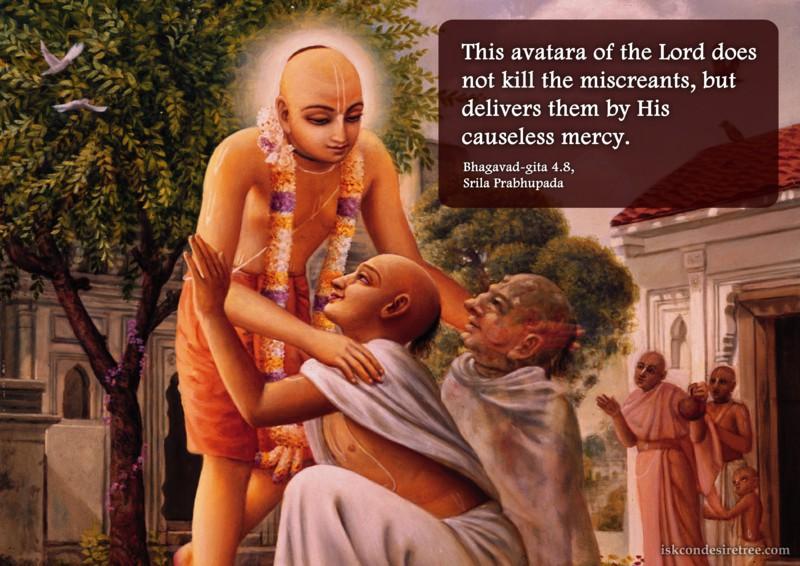 Srila Prabhupada on Lord Chaitanya
