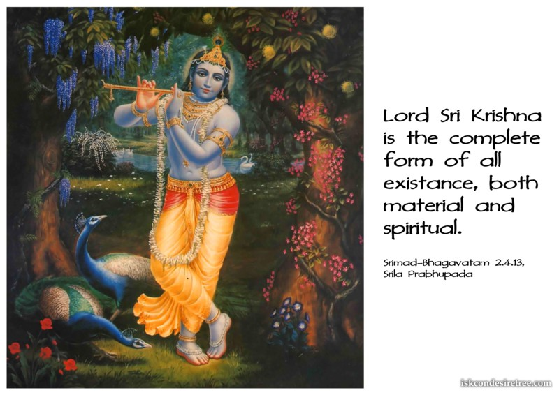 Srila Prabhupada on Lord Sri Krishna