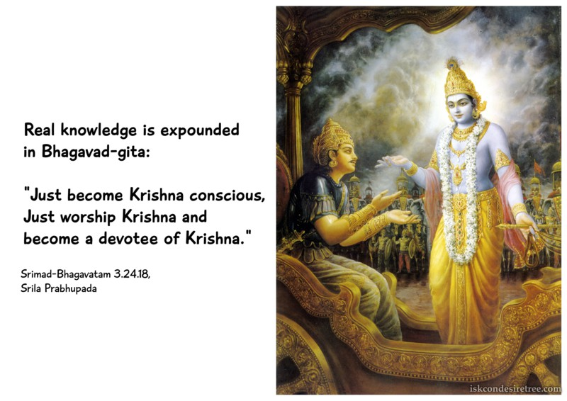 Srila Prabhupada on Real Knowledge