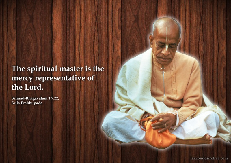 Srila Prabhupada on The Spiritual Master