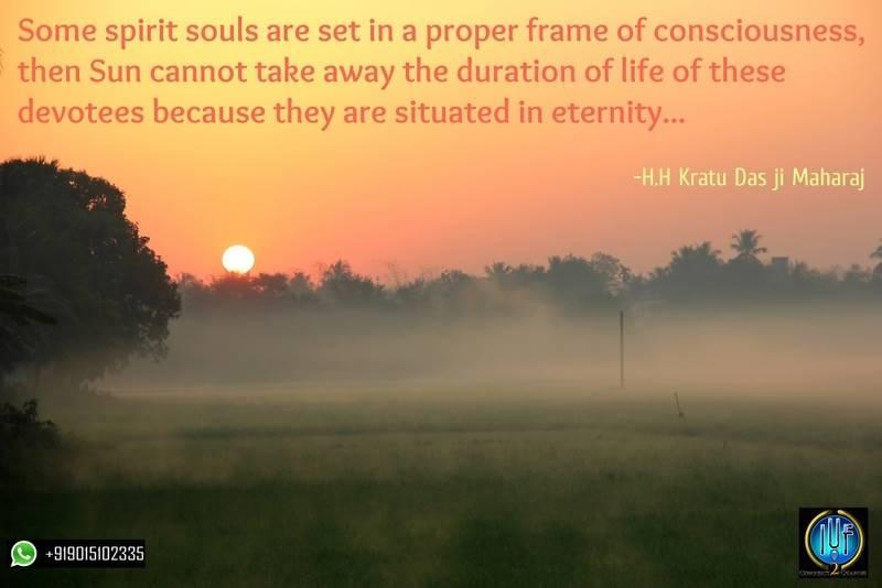 Spiritual souls set in a proper frame