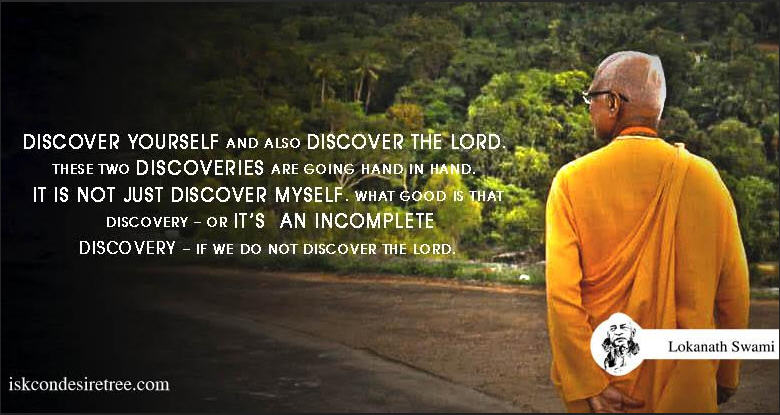 Discover Yourself and also The Lord
