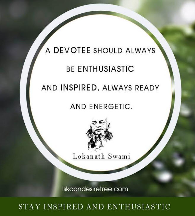 Stay Inspired and Enthusiastic