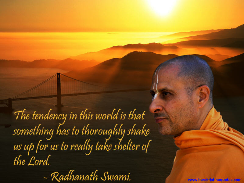 Radhanath Swami on Surrendering to the Lord