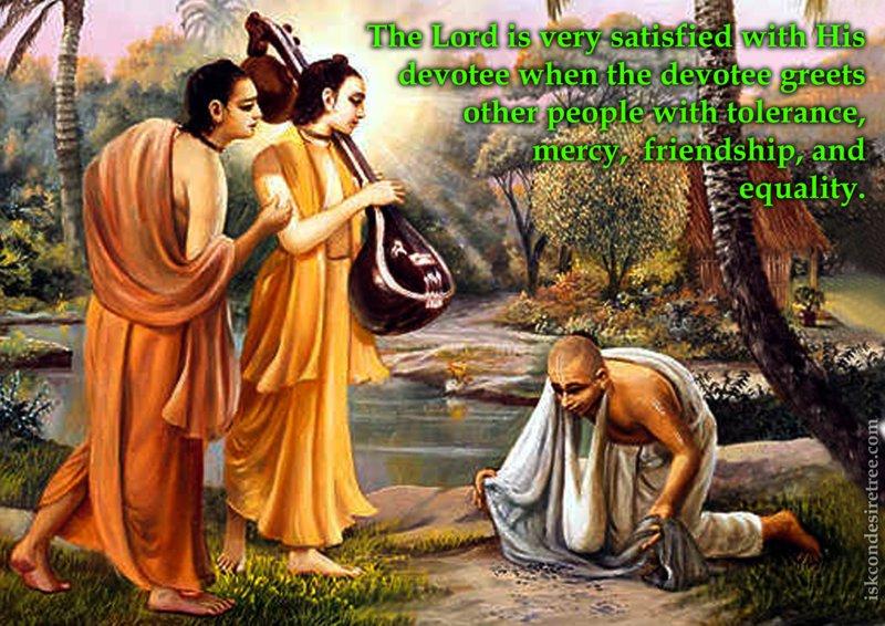 Srimad Bhagavatam on Satisfying the Lord