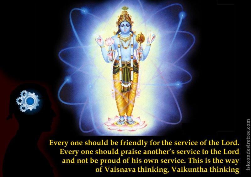 Srimad Bhagavatam on Vaishnava thinking