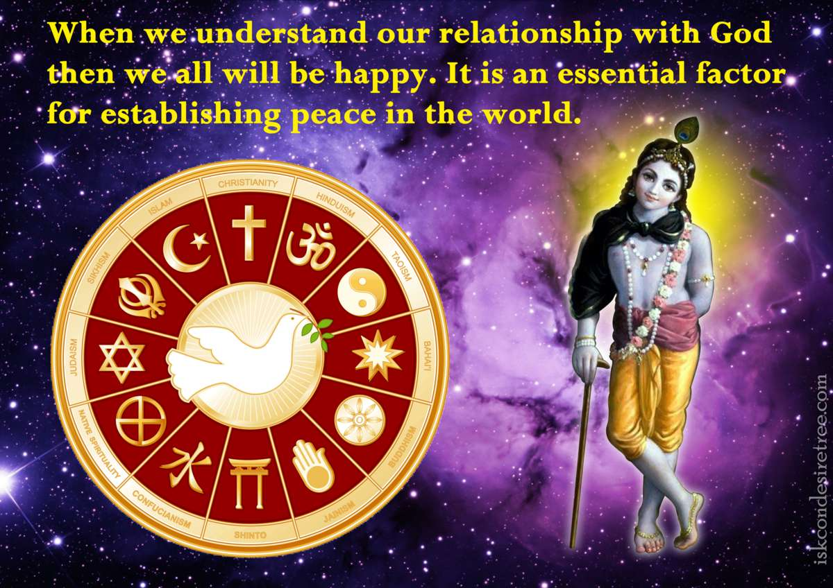 Bhakti Charu Swami on Establishing Peace in This World