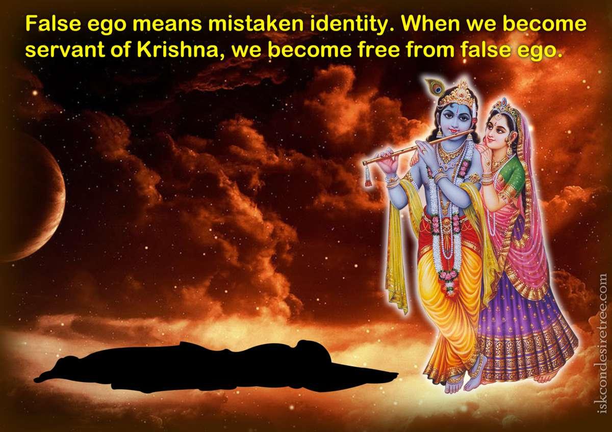 Bhakti Charu Swami on False Ego