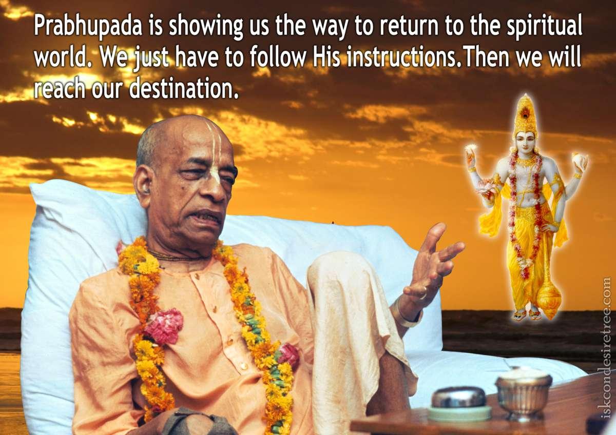 Bhakti Charu Swami on Following Instructions of Srila Prabhupada