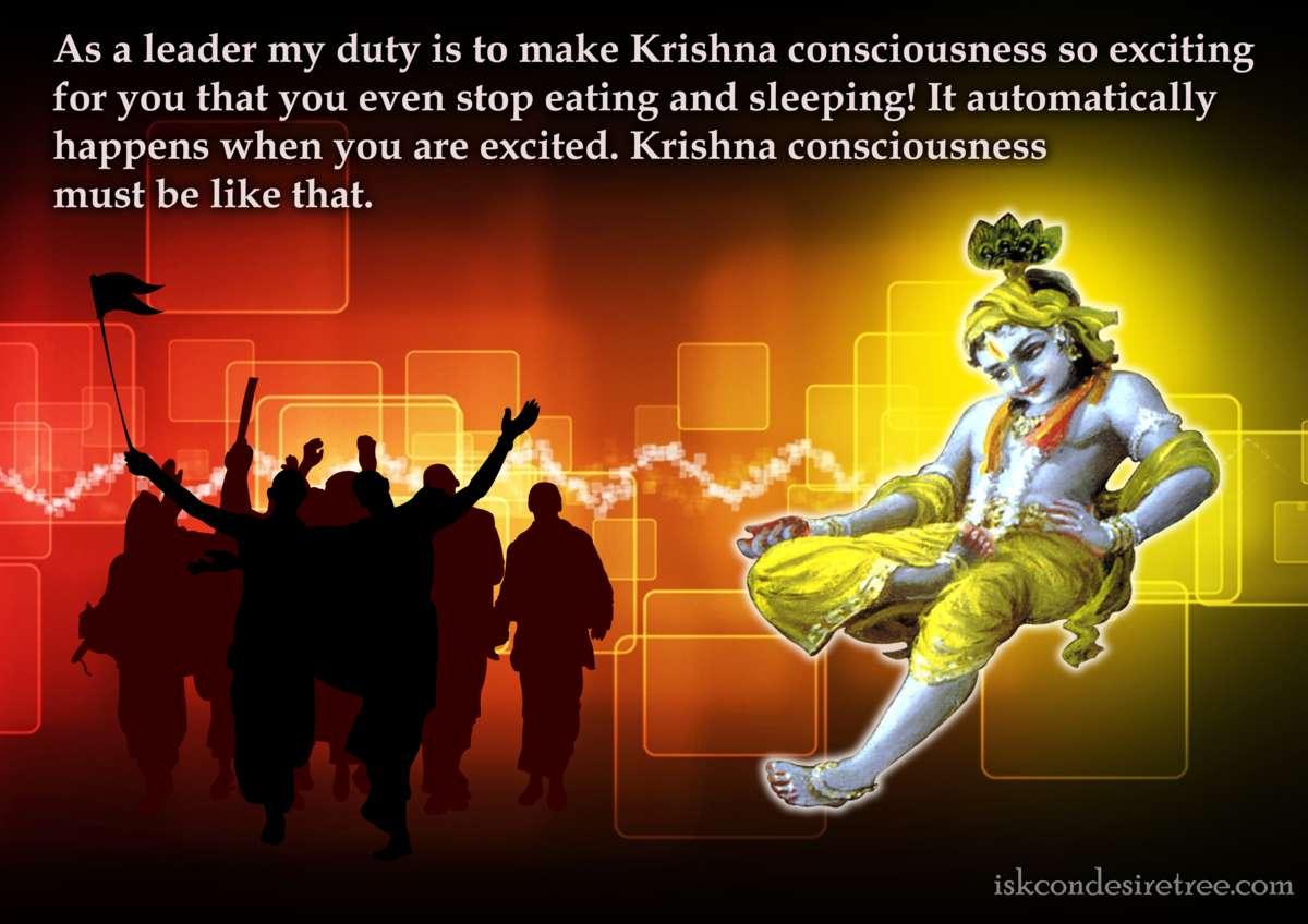 Bhakti Charu Swami on Making Krishna Consciousness Exciting