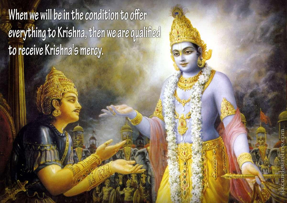 Bhakti Charu Swami on Receiving Krishna's Mercy