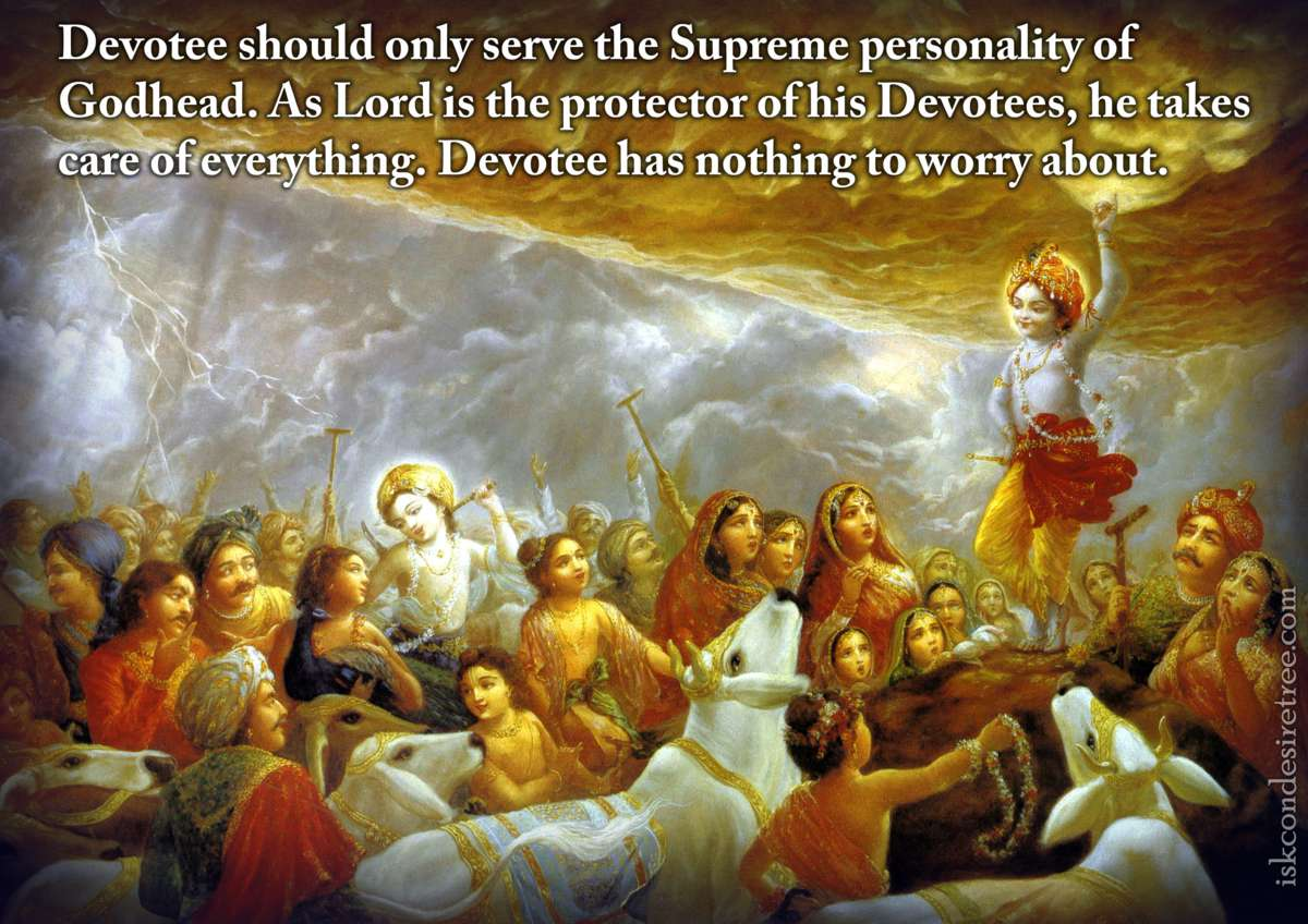Bhakti Charu Swami on The Lord - The Protector of His Devotees