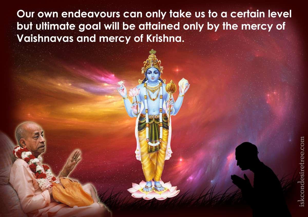 Bhakti Charu Swami on The Mercy of The Vaishnavas and Lord Krishna